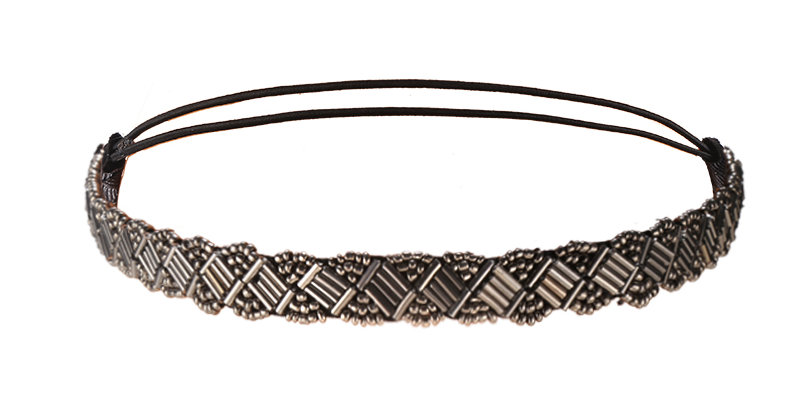 Haarband met elastiek