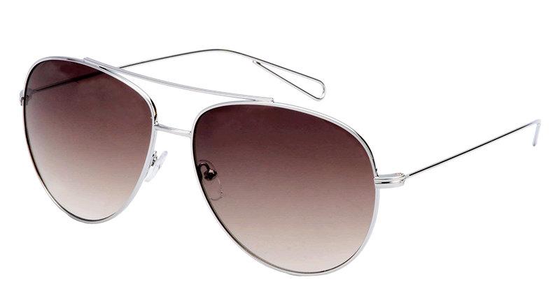 Trendy en comfortabele zonnebril met gespiegelde glazen