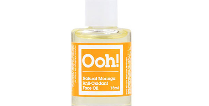 Organic Moringa Anti-Oxidant Face Oil 15ml