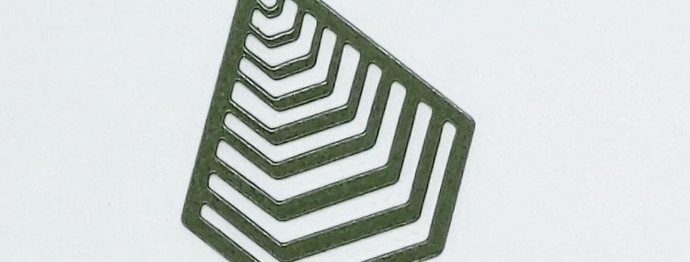 Hangers 1.5cm Groen - 2 Stuks
