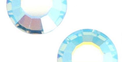 Swarovski Elements flat back SS20 Aquamarine blue aurore boreale - 20stuks