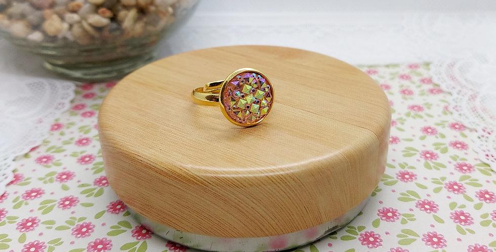 Stainless Steel Ring Goud