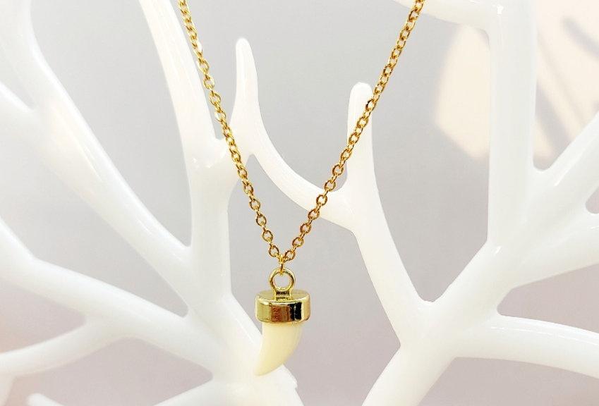 Handgemaakte Halsketting kleur: Goud
