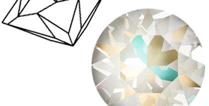 Swarovski Elements puntstenen 1088-SS39 Crystal light grey DeLite-12stuks