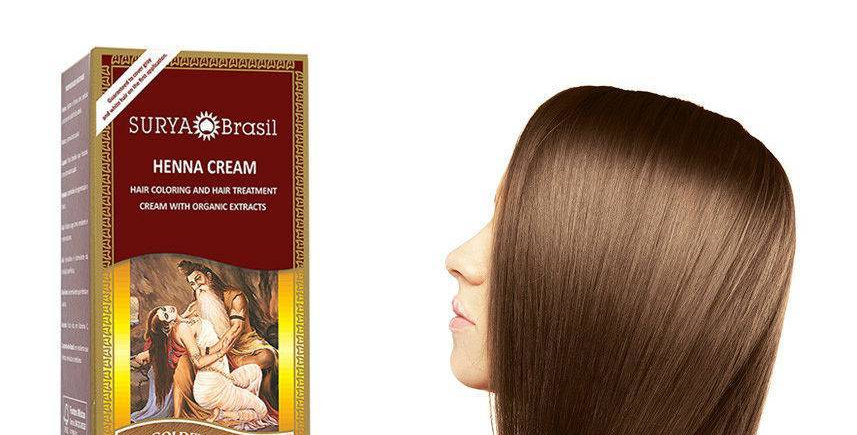 Henna Haarverf Cream Golden Brown 70ml