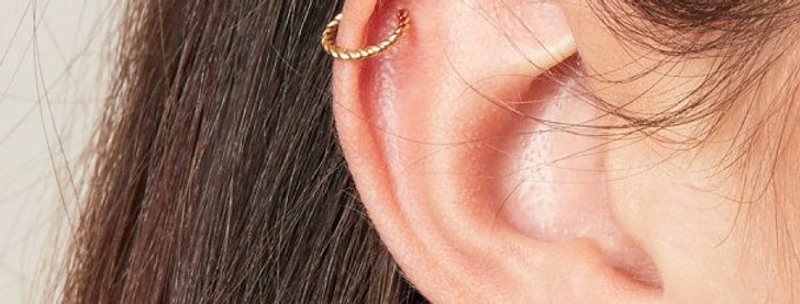 Gold plated  earcuffs - Verkrijgbaar in 2 verschillende kleuren