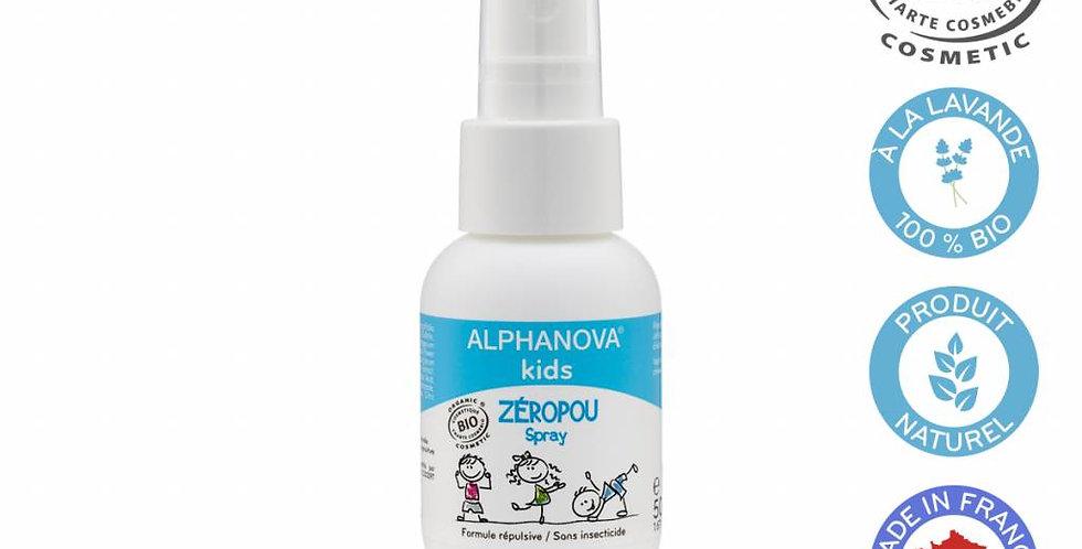 BIO Zeropou Spray - voorkomt luizen 50ml
