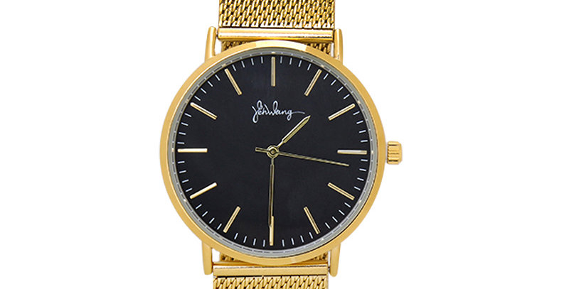 Trendy stainless steel unisex horloge