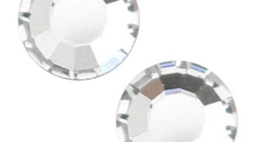 Swarovski Gemstones 6.4mm voor 6mm Earpins - 6Stuks