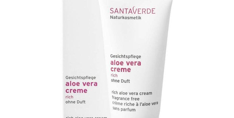 Aloe Vera Cream Rich zonder parfum 30ml