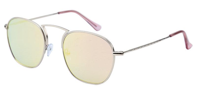 Mooie zonnebril met spiegelende glazen