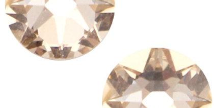 Swarovski Elements flatback 2088-SS34 Xirius Rose Light silk beige 12stuks