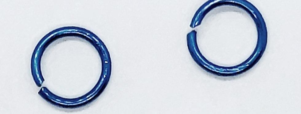 Buigringen 0.8x6mm Donkerblauw - 10 Stuks
