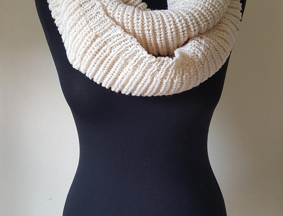 Ronde sjaal - beige