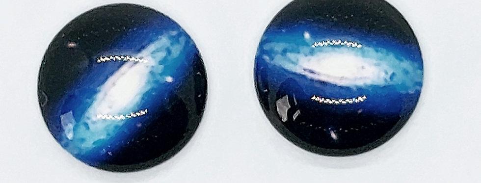 Galaxy Cabochons 12mm - 2 Stuks