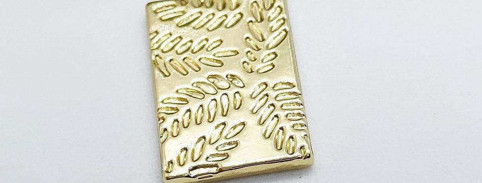 Metalen bedel 19x11mm - prijs per stuk