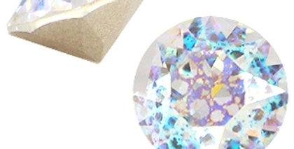 Swarovski Elements puntsteen SS39 Crystal white patina - 12stuks