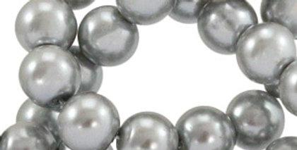 Glasparels rond 10 mm - 160stuks - Beschikbaar in verschillende kleuren