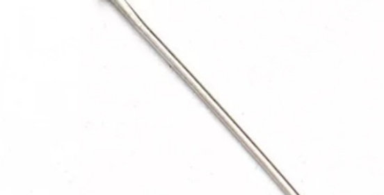 Vergulde RVS Nietstiften 50mm kleur: Antiek Zilver - 10 Stuks