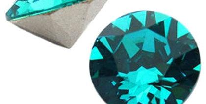 Swarovski Elements puntsteen SS39 Blue zircon - 12stuks