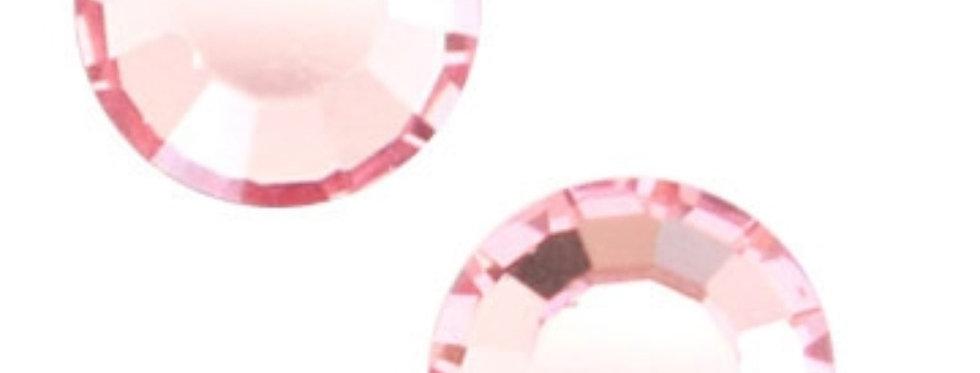 Swarovski Gemstones 4.7mm voor 4mm Earpins kleur: Roze - 6stuks