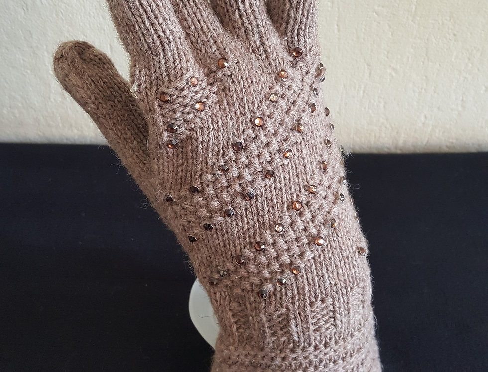handschoenen - bruin