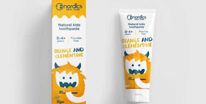 Tandpasta Kids Orange Clementine 50ml