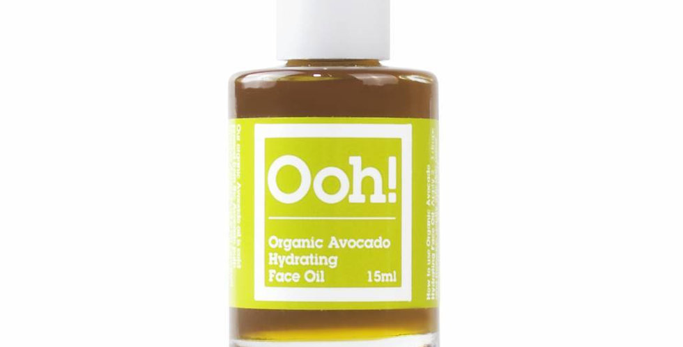 Natural Organic Avocado Hydrating Face oil 15ml