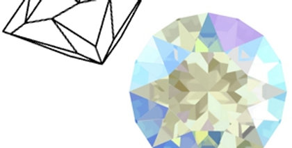 Swarovski Elements puntstenen 1088-SS 39 Light sapphire shimmer - 12stuks