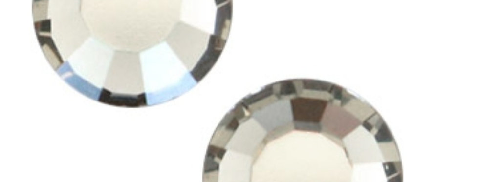 Swarovski Gemstones 6.4mm voor 6mm Earpins - 6 Stuks