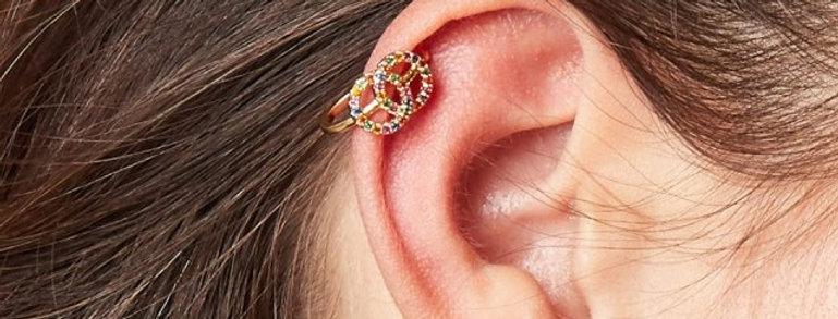 Gold plated  earcuffs - Verkrijgbaar in 3 verschillende kleuren