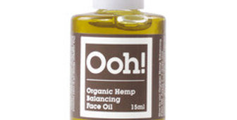 Natural Organic Hemp Balancing Face Oil 15ml