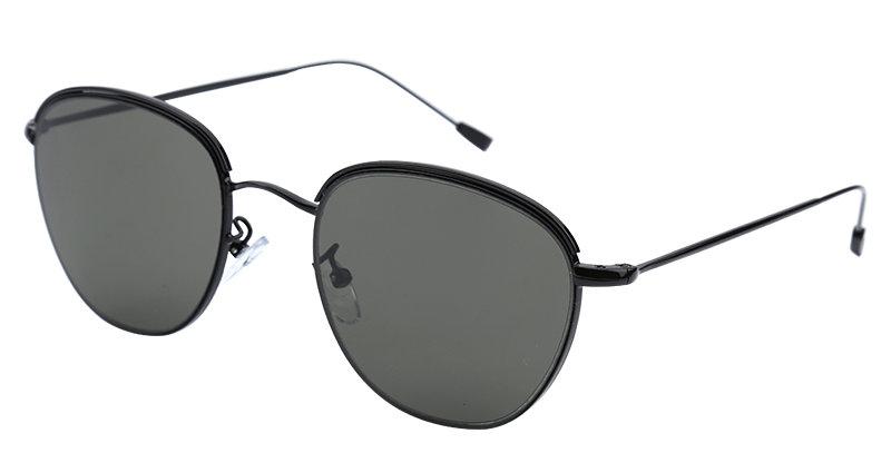 Mooie zonnebril met gekleurde glazen