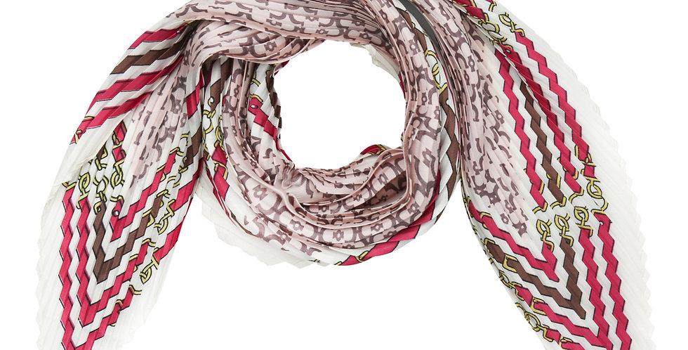 Kleine zijden ruitvormige sjaal