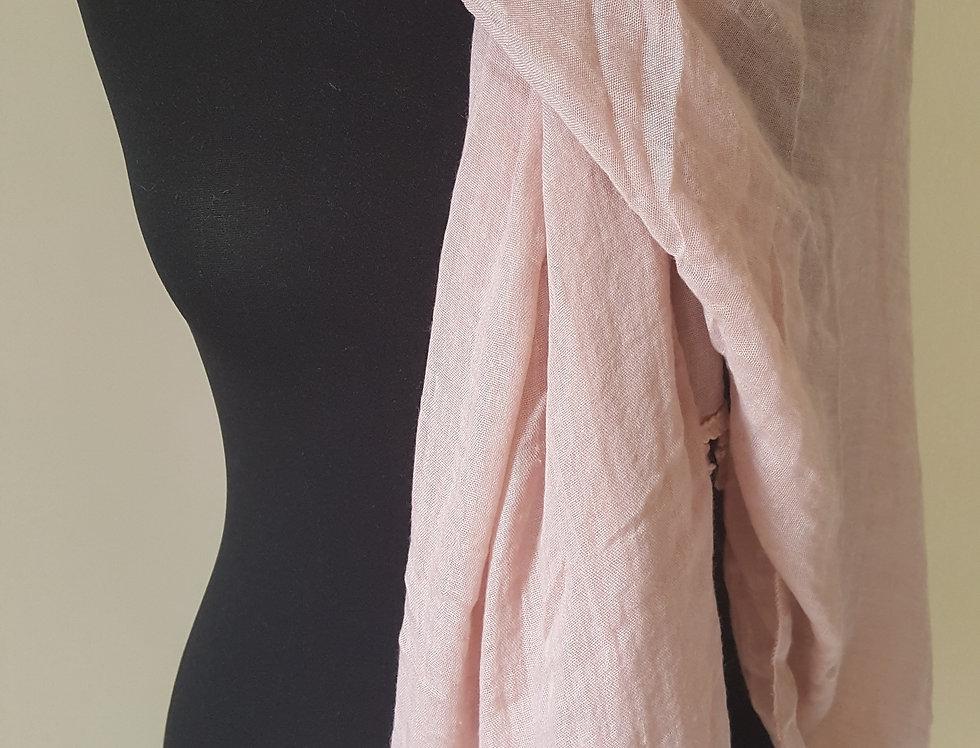 shawl - roze