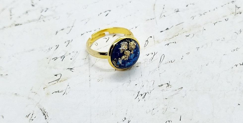 Verstelbare Stainless Steel Ring - Kleur: Goud