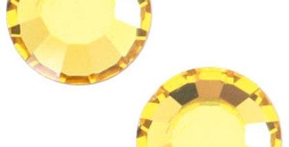 Swarovski Elements flat back SS20 (4.7mm) Light topaz yellow - 20stuks