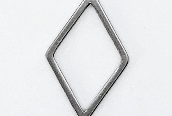 RVS Bedel/Tussenstuk 10x16mm - 2 Stuks