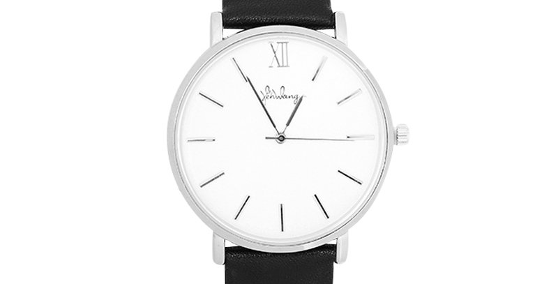 Trendy stainless steel horloge