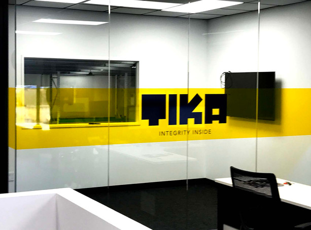 TIKA Meeting Room Glass