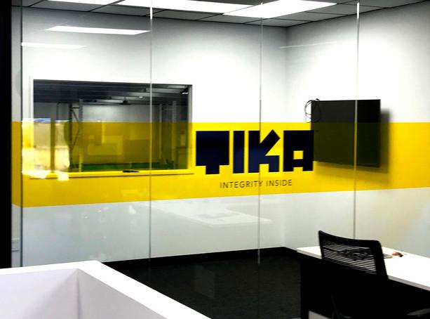 TIKA Meeting Room Glass