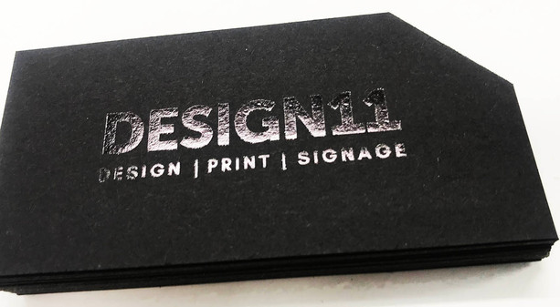UV Coated Business Cards