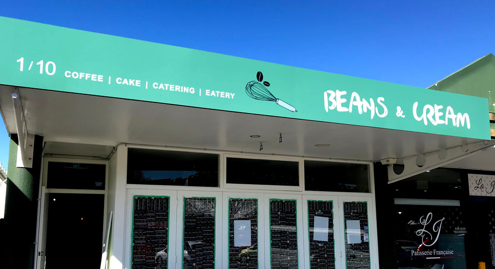 Beans and cream cafe shop signage.jpg