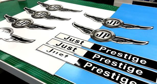 Just Prestige vehicle magnets