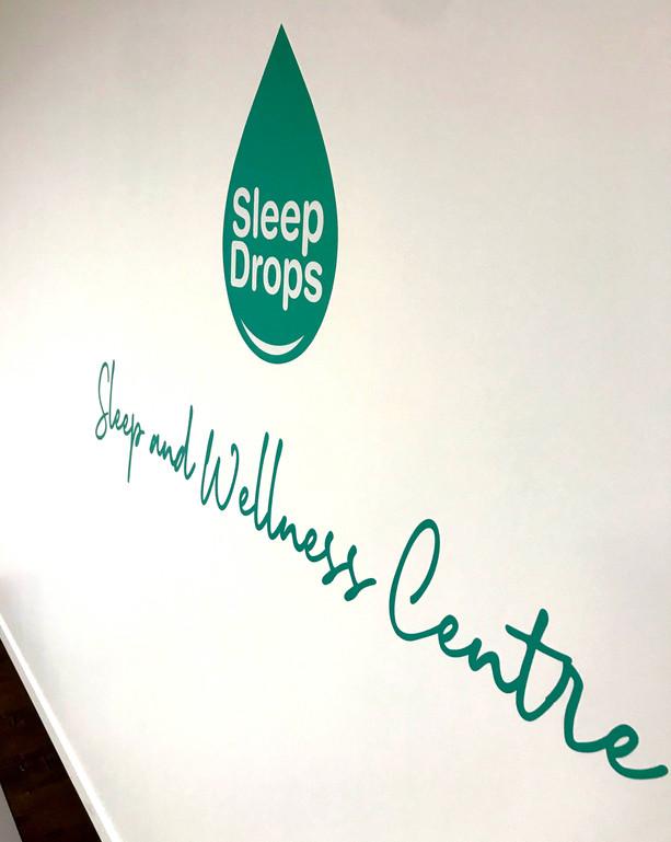 Sleep Drops Wall Graphics