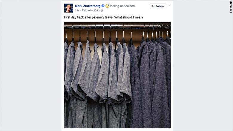 Mark Zuckerberg Closet