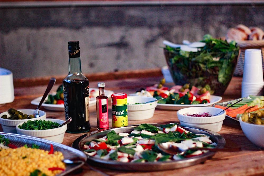 Gäste, Abendessen