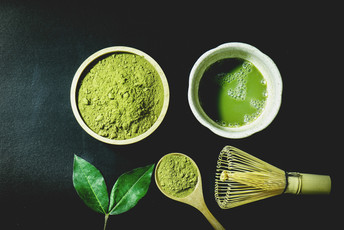 Healthy in Green - Matcha-Experimente DIY