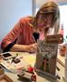 Sabine Rieker: Die Postkartenschreiberin