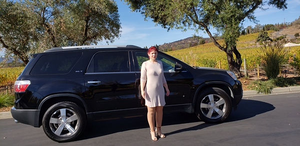 Natalie Napa Wine Tour Transportation Services